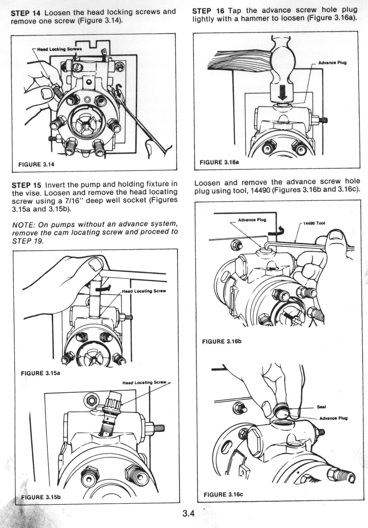 John Deere Roosa Master Injector Pump Manual SM